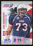 2012 Upper Deck USA Football U-19 National Team Autographs #U1919 Ziad Damanhoury Autograph
