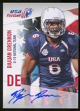 2012 Upper Deck USA Football U-19 National Team Autographs #U1923 Dajaun Drennon Autograph