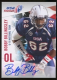 2012 Upper Deck USA Football U-19 National Team Autographs #U1928 Bobby Billingsley Autograph