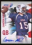 2012 Upper Deck USA Football U-19 National Team Autographs #U1930 Cameron Birse Autograph
