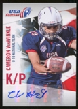 2012 Upper Deck USA Football U-19 National Team Autographs #U1933 Cameron Van Winkle Autograph
