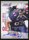 2012 Upper Deck USA Football U-19 National Team Autographs #U1934 Alec Abeln Autograph