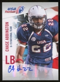 2012 Upper Deck USA Football U-19 National Team Autographs #U1938 Chase Abbington Autograph