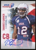 2012 Upper Deck USA Football U-19 National Team Autographs #U1943 Tavares Garner Autograph