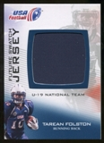2012 Upper Deck USA Football U-19 National Team Future Swatch #U19FS1 Tarean Folston