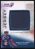 2012 Upper Deck USA Football U-19 National Team Future Swatch #U19FS4 Jesus Wilson