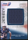 2012 Upper Deck USA Football U-19 National Team Future Swatch #U19FS6 Durham Smythe