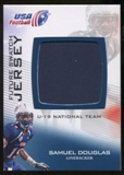 2012 Upper Deck USA Football U-19 National Team Future Swatch #U19FS7 Samuel Douglas