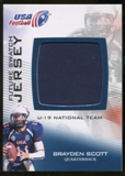 2012 Upper Deck USA Football U-19 National Team Future Swatch #U19FS13 Brayden Scott