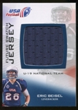2012 Upper Deck USA Football U-19 National Team Future Swatch #U19FS14 Eric Beisel