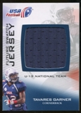 2012 Upper Deck USA Football U-19 National Team Future Swatch #U19FS17 Tavares Garner