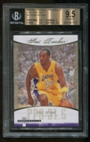 2007/08 Fleer Hot Prospects Stat Tracker Kobe Bryant BGS 9.5 Gem Mint