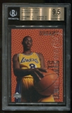 1996/97 Upper Deck Rookie RC Exclusives #R10 Kobe Bryant BGS 9.5 Gem Mint