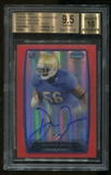 2013 Bowman Chrome Datone Jones Red Refractors RC Autograph Serial 22/25 BGS 9.5 10