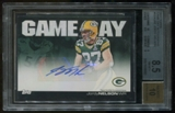 2011 Topps Jordy Nelson Gameday Autograph BGS 8.5 Auto 10