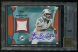 2013 Topps Brian Hartline Relic Autograph Serial #35/50 BGS 9 Mint Auto 10