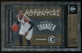 2010/11 Panini Totally Certified Potential Gold Russell Westbrook Serial# 20/25 BGS 9.5