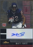 2008 Finest #114 Matt Forte Rookie Auto