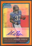 2006 Bowman Chrome #237 Maurice Jones Drew Rookie Orange Refractor Auto #23/25