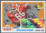 2005 Topps All American #AWP William Perry Auto