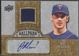 2009 Upper Deck Ballpark Collection #JM Joe Mauer Jersey Auto