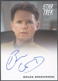 2009 Star Trek Movie #3 Bruce Greenwood Auto