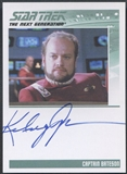 2011 The Complete Star Trek The Next Generation #85 Kelsey Grammer Auto
