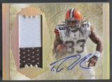 2012 Topps Five Star #180 Trent Richardson Rookie Rainbow Patch Auto #21/25