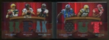 2009 Topps Triple Threads Booklet Serial #17/20 6 Players Jerseys Aaron Rodgers