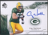 2009 SP Authentic #357 Clay Matthews Rookie Auto #045/299