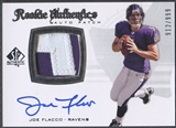 2008 SP Authentic #295 Joe Flacco Rookie Patch Auto #912/999