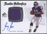 2008 SP Authentic #285 Ray Rice Rookie Patch Auto #311/999