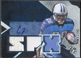 2008 SPx #153 Chris Johnson Rookie Jersey Auto #269/599