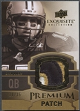 2010 Exquisite Collection #EPPDB Drew Brees Premium Patch #10/35