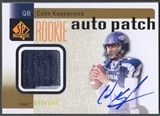 2011 SP Authentic #233 Colin Kaepernick Rookie Patch Auto #028/699