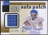 2011 SP Authentic #209 Randall Cobb Rookie Patch Auto #617/699