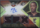 2008/09 SPx #173 Mario Chalmers Rookie Jersey Auto #018/599