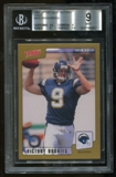 2001 Upper Deck Victory Gold Drew Brees Rookie RC BGS 9 Mint