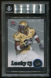 2007 Fleer Ultra #203 Calvin Johnson Lucky 13 RC Rookie BGS 9 Mint