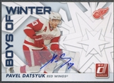 2010/11 Donruss #72 Pavel Datsyuk Boys of Winter Auto