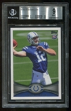 2012 Topps #140A Rookie Andrew Luck RC BGS 9 Mint