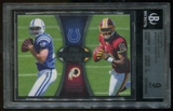 2012 Topps Paramount Pairs Andrew Luck Robert Griffin III RC BGS 9 Mint