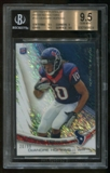 DeAndre Hopkins 3 Card Graded 9.5 Gem Mint Rookie Lot 2013
