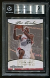 2007/08 Fleer Hot Prospects Lebron James Stat Tracker #23 BGS 9 Mint
