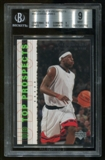 2003/04 Upper Deck RC Lebron James Top Prospects Rookie #55 BGS 9 Mint