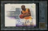 2003/04 Upper Deck Ultimate #GP Gary Payton Signatures Auto BGS 9 Mint Auto 10