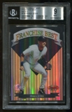 1999 Bowman's Best #FB6 Derek Jeter Franchise Best Mach II BGS 9 Mint Serial #/1000
