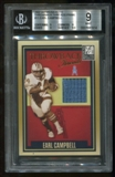 2007 Donruss Elite #11 Earl Campbell Throwback Threads Prime BGS 9 Mint Serial #2/30