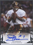 2013 Leaf Sports Heroes #BAJT1 Joe Theismann Silver Auto #08/10