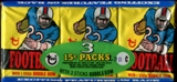 1976 Topps Football Wax Pack Tray